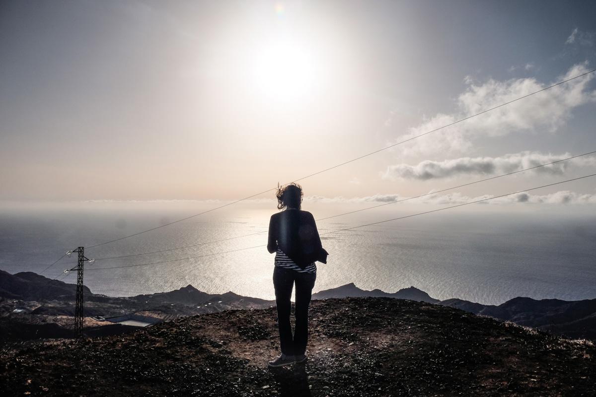 La Gomera: Vista desde un mirador de la isla. Foto: Hugo Palotto