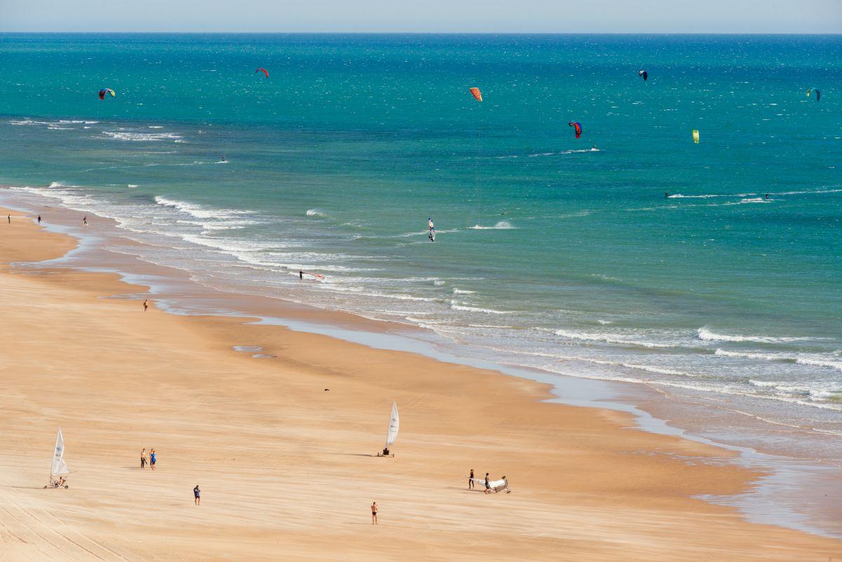 Playa de Cortadura (Cádiz).