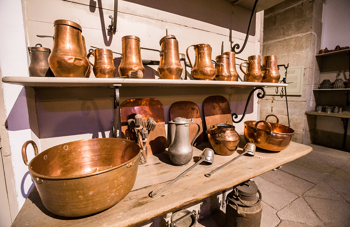 Cocinas Palacio Real: Para cocinar al baño maría. Foto: Máximo García