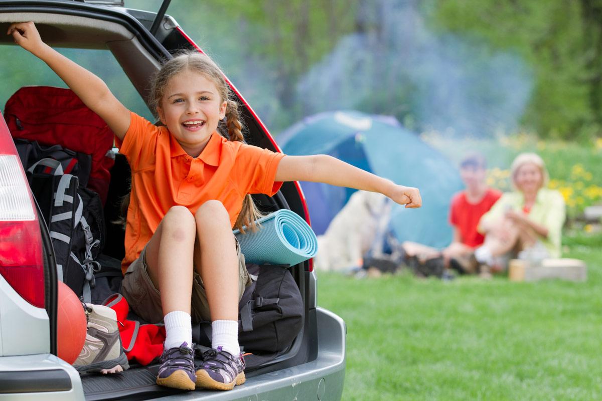 Protege a los más pequeños en los viajes en coche.