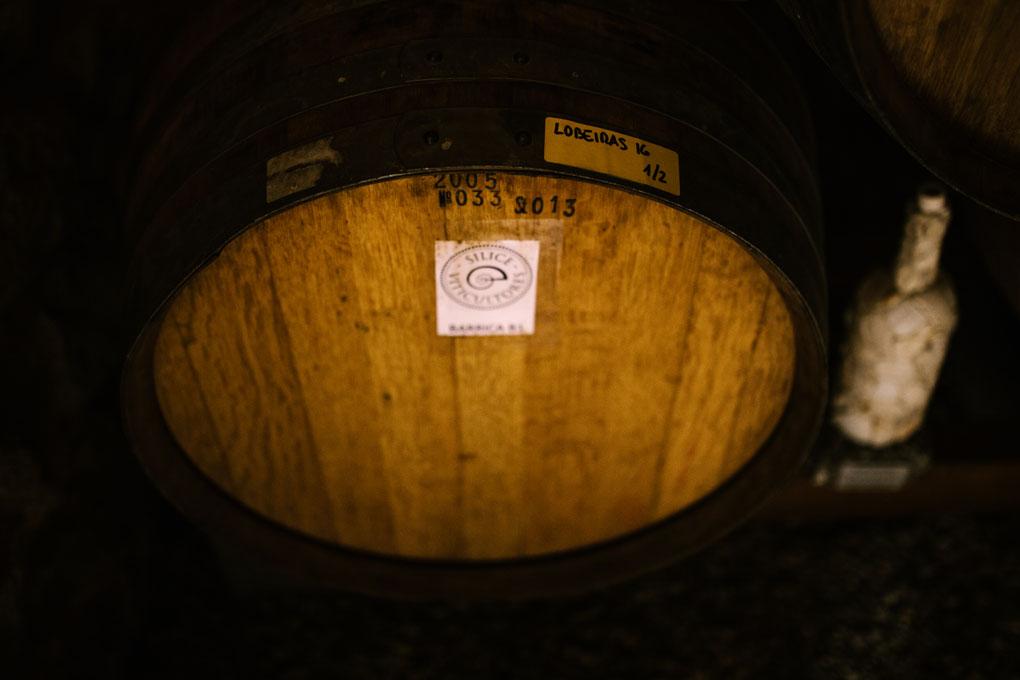 Aquí reposa uno de los vinos más caros de Galicia.