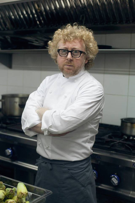 El cocinero Lucas Rodi, padrino de la muestra gastro. Foto: Facebook, Dabbawala.