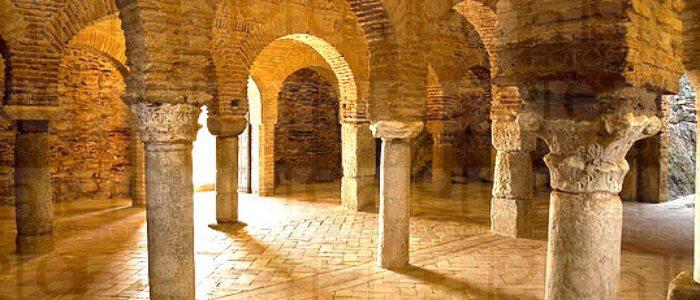 Mezquita omeya de Almonaster la Real.