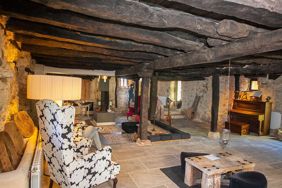 Interior del Hotel Posada Priorato de Val, Villacibio