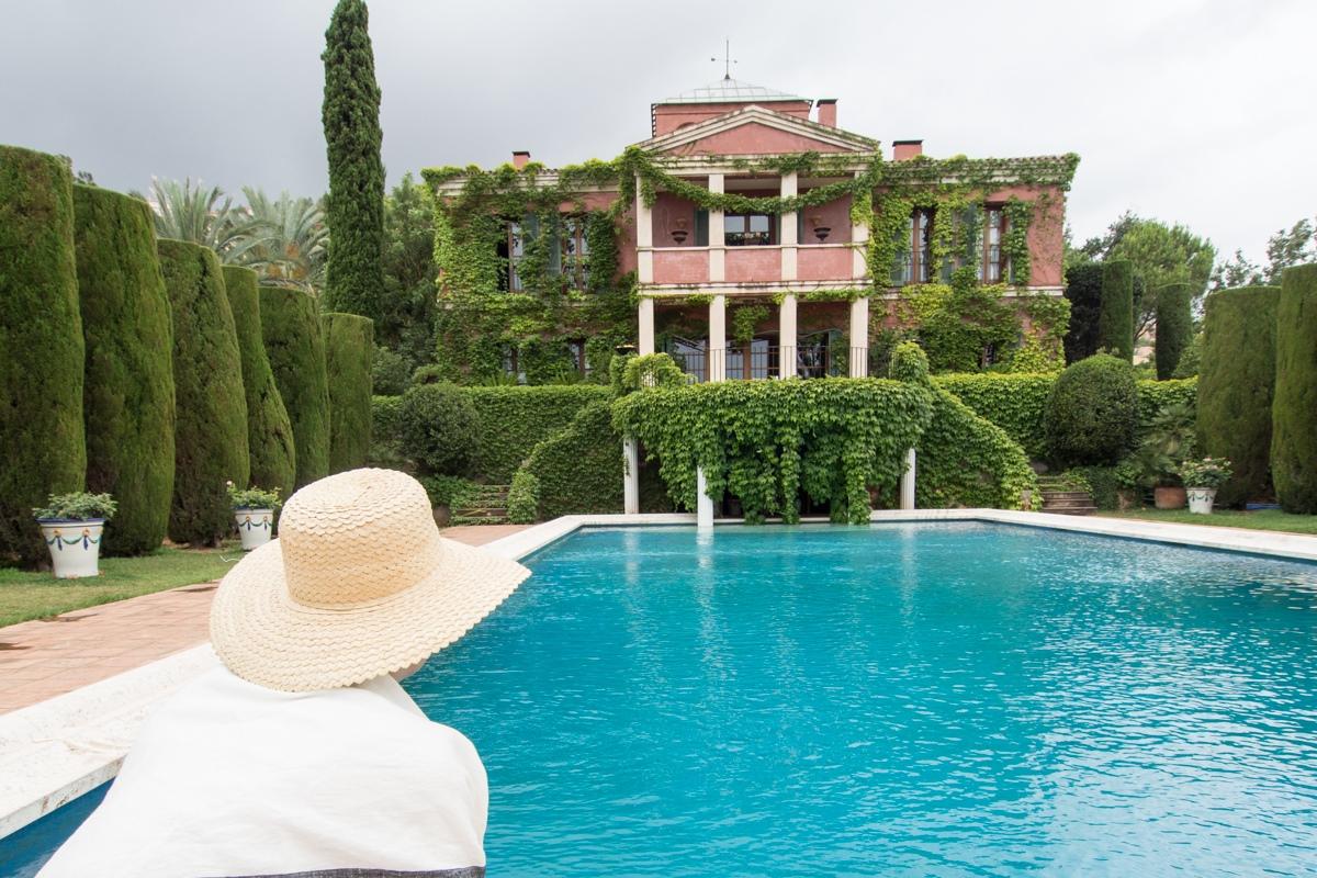 La residencia, de estilo 'palladiano', es de uso privado, pero cuenta con una cafetería abierta al público.