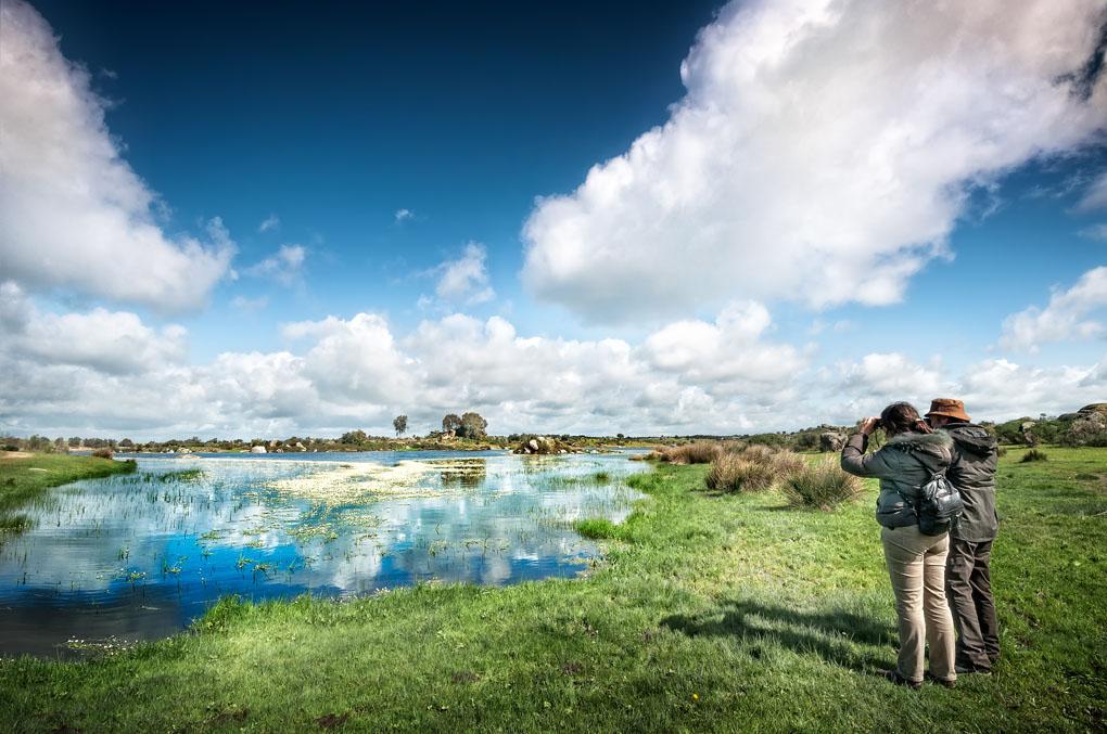 Los Barruecos forman un paisaje único digno de película. Foto: Shutterstock.