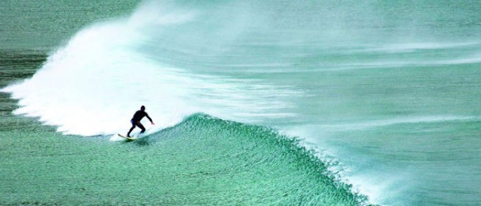 Las playas cántabras son idóneas para practicar surf.
