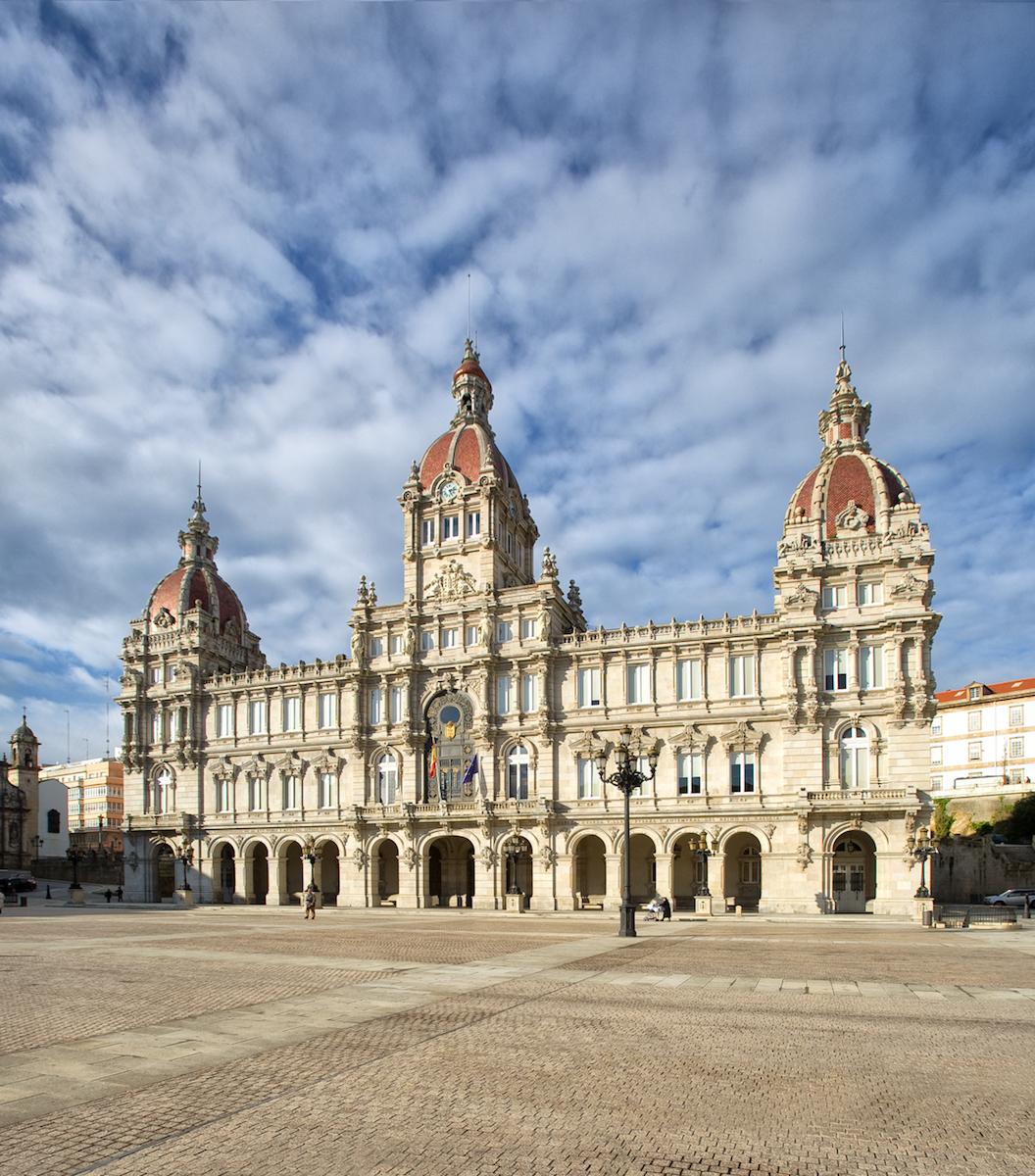 Ayuntamiento de A Coruña. Foto: Stéphane Lutier.