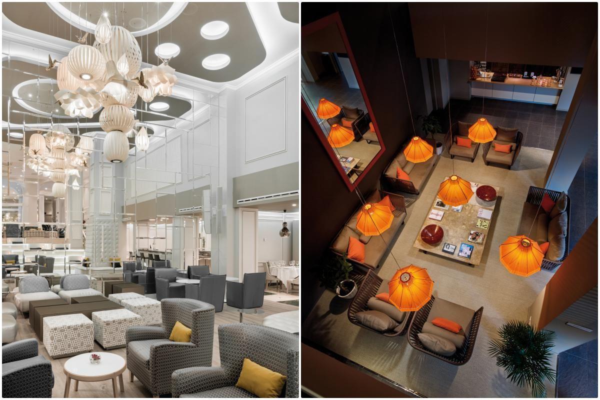 En los hoteles 'NH Madrid Abascal' y en 'Le Méridien' cuelgan modelos de la firma