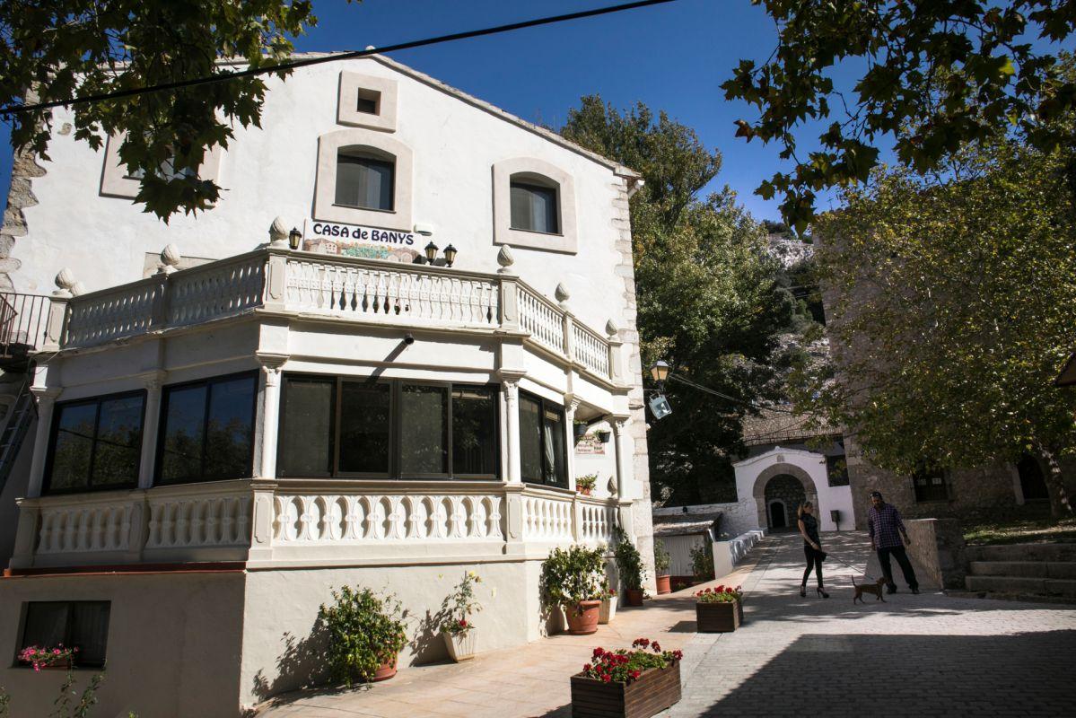 Casa Banys L'avella, L'Avellà, Catí , Castellón. Foto: Eva Máñez. Foto: Eva Máñez