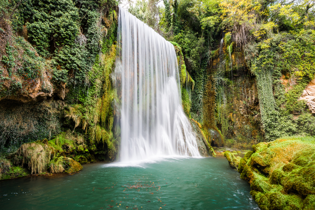 No son las cataratas del Niágara, son las del Monasterio de Piedra. Foto: Shutterstock.