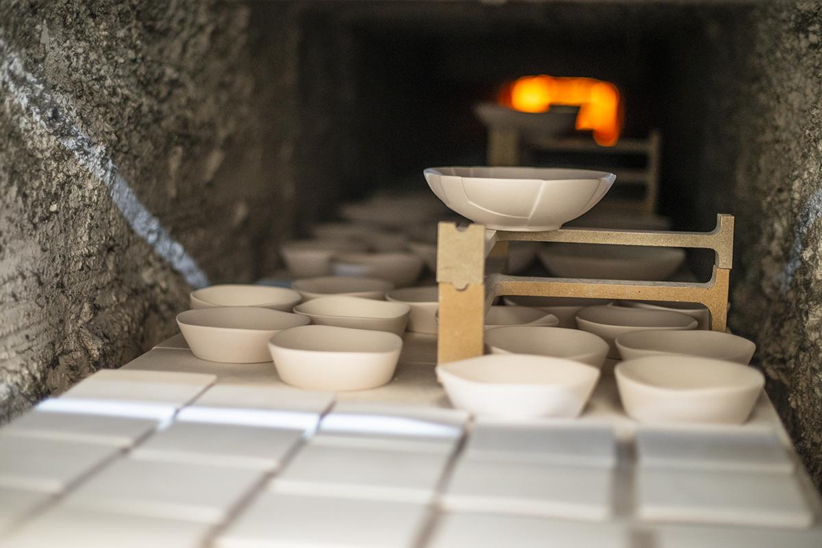 Vajillas Pordamsa. La cocción en el horno, la clave para diferenciar la buena porcelana de las falsas.