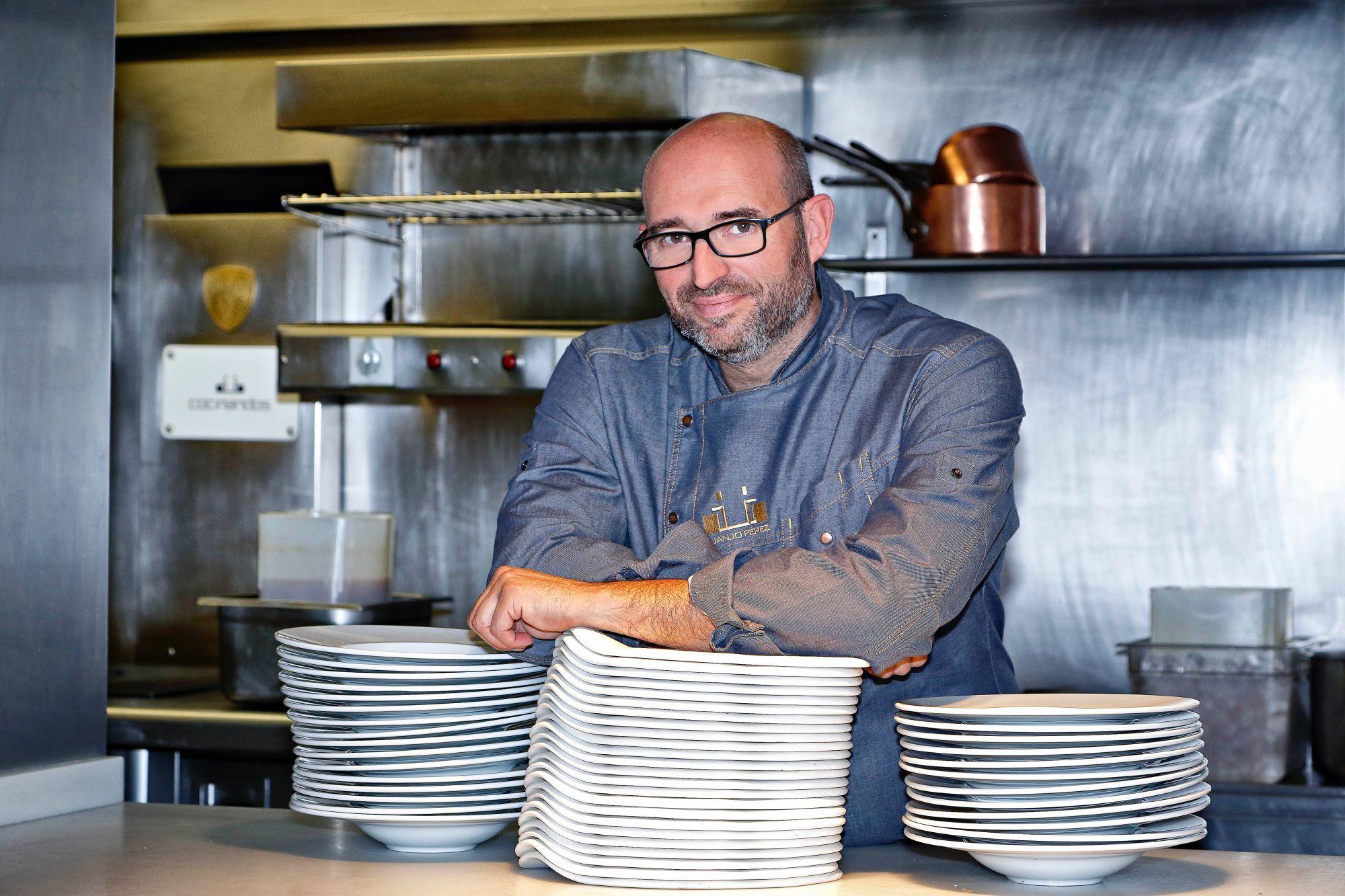 Restaurante 'Cocinandos' (León): Juanjo Pérez