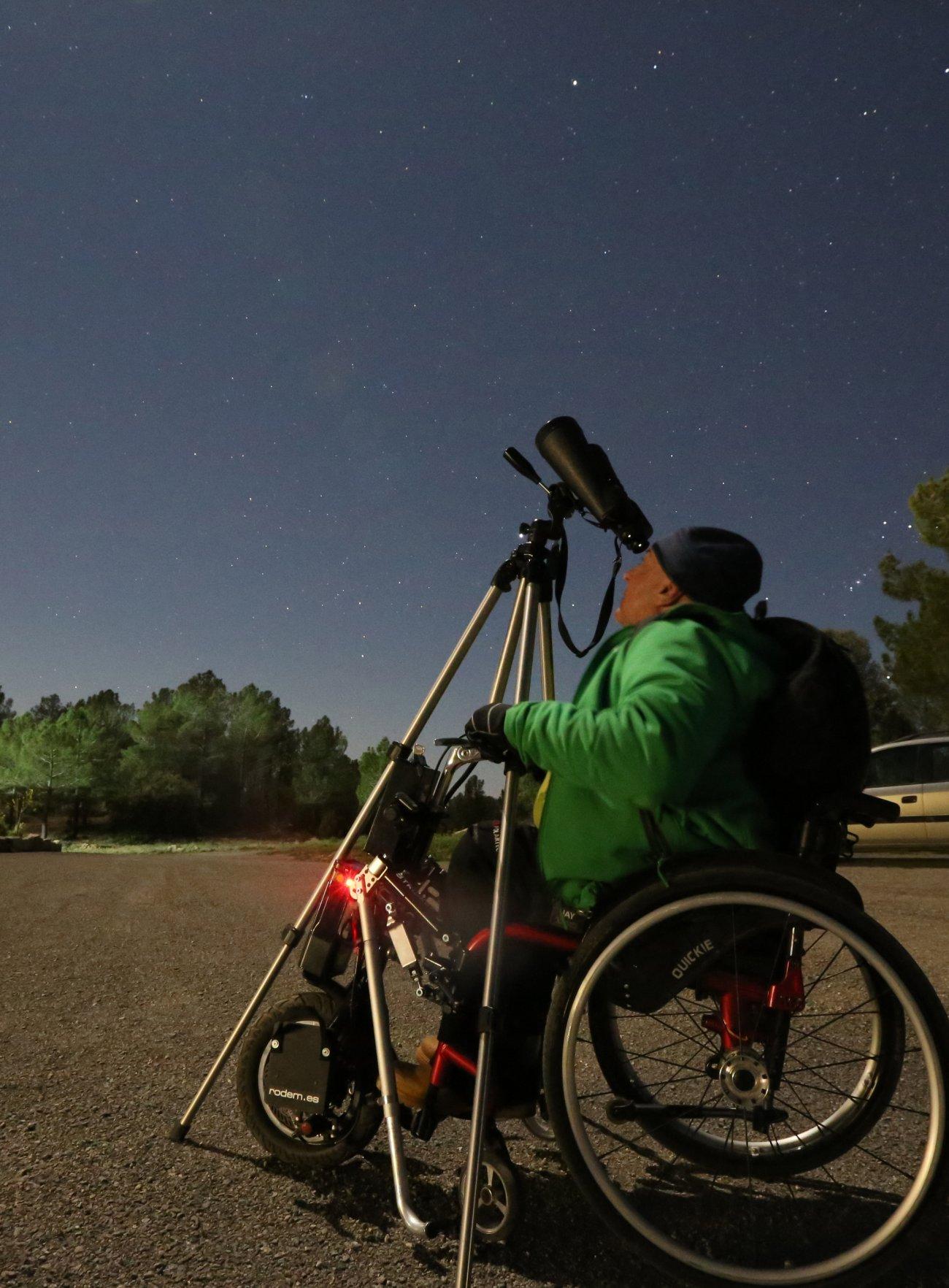 Sierra de Gúdar-Javalambre: Observación de estrellas desde la sierra (turismo accesible)
