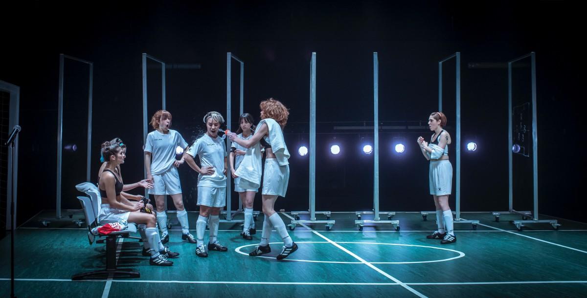 En 'Playoff' se aborda el papel de las mujeres en el fútbol. Foto: David Ruano.