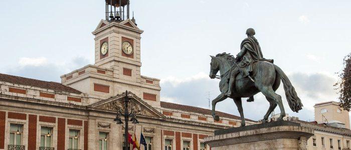 Real Casa de Correos, Madrid.
