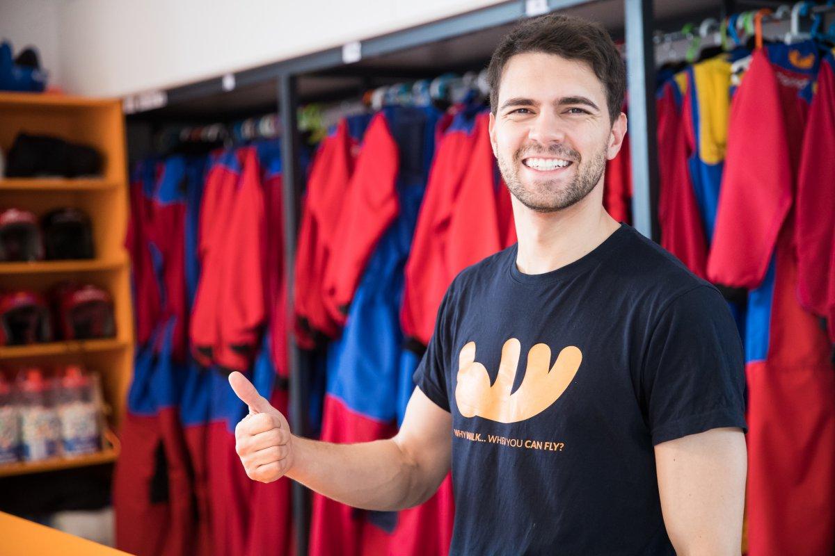 Ze Miguel Abreu, uno de los monitores.