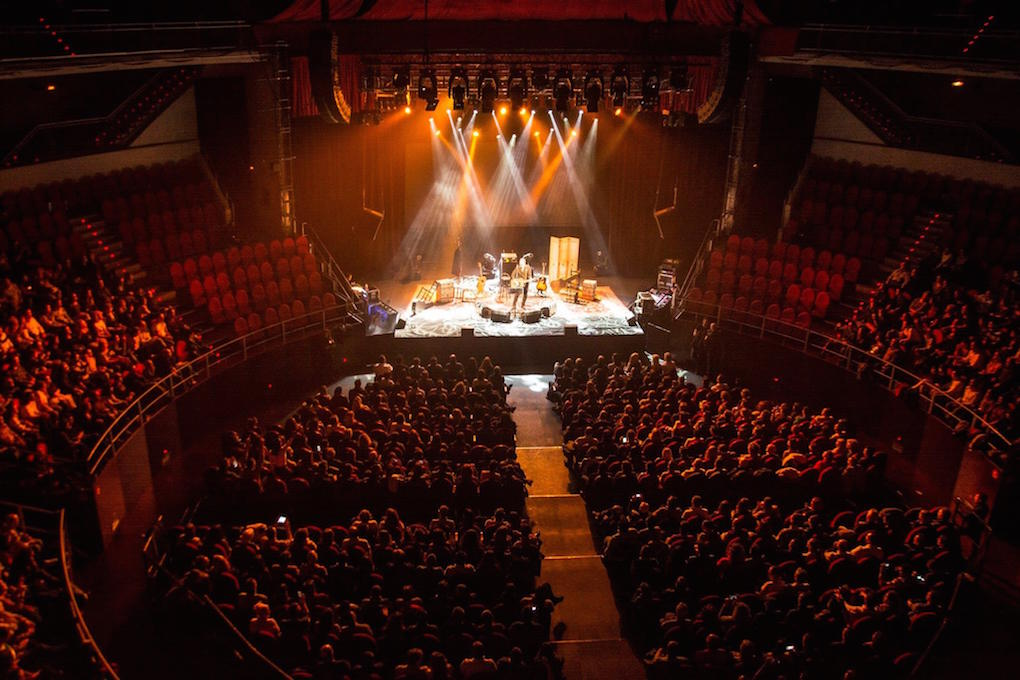 El escenario del Teatro Circo Price. Foto: Facebook