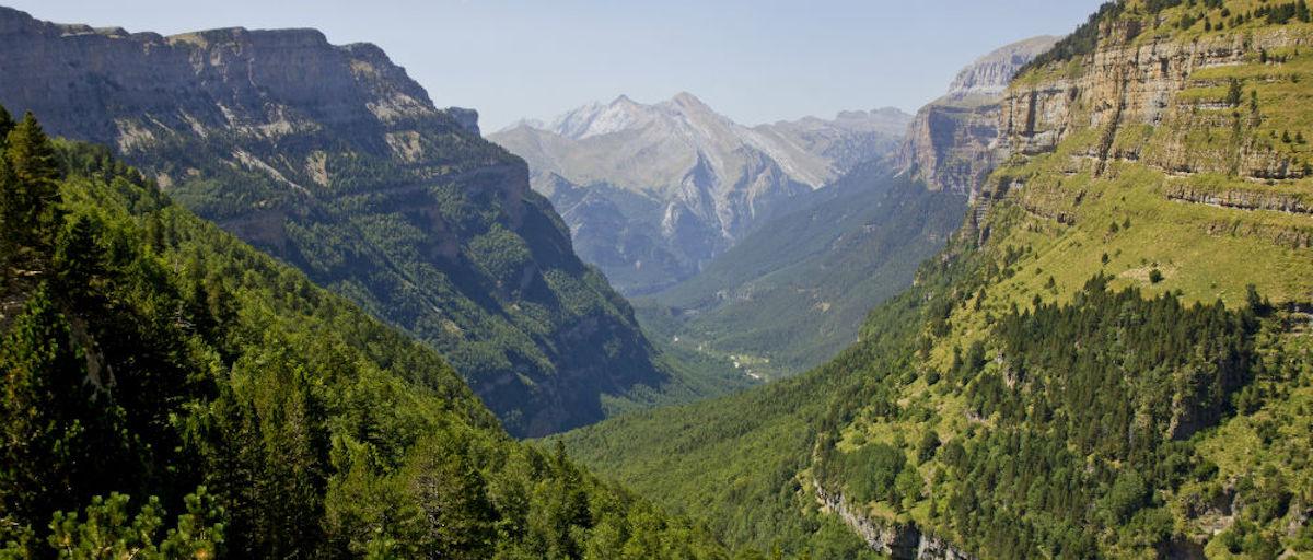 Parque Nacional Ordesa y Monte Perdido, Huesca.