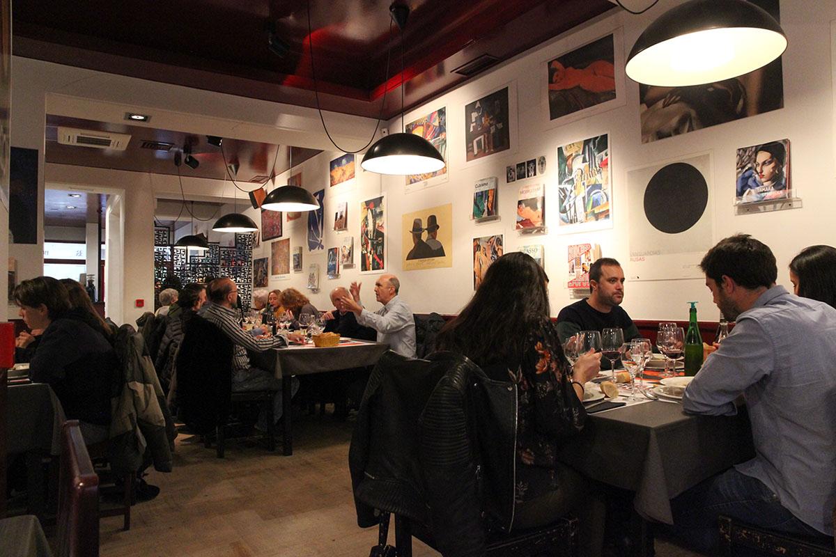 Arte y gastronomía se dan cita en 'The Morgan Kompany'.