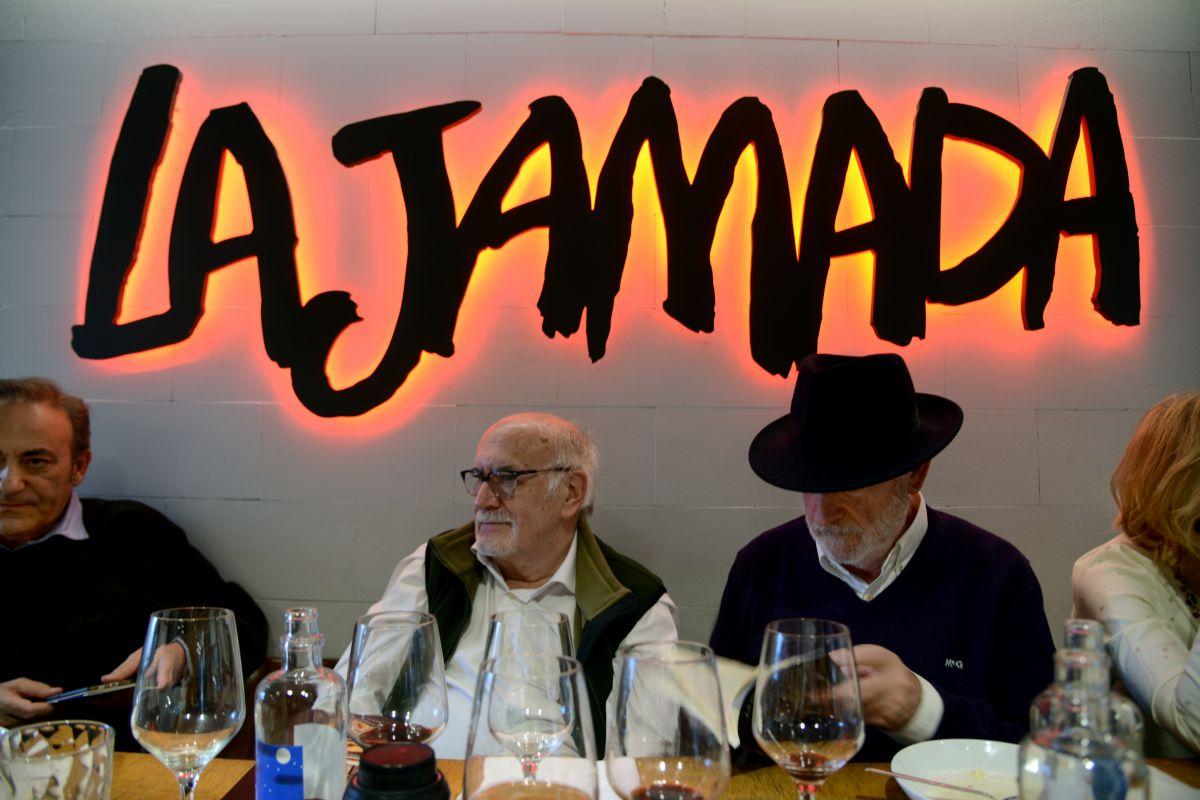 Ambiente en el restaurante La Jamada, Burgos.
