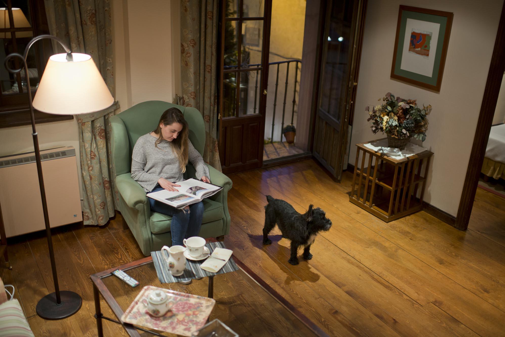 Duque se lo pasó pipa en los apartamentos donde se admiten mascotas.