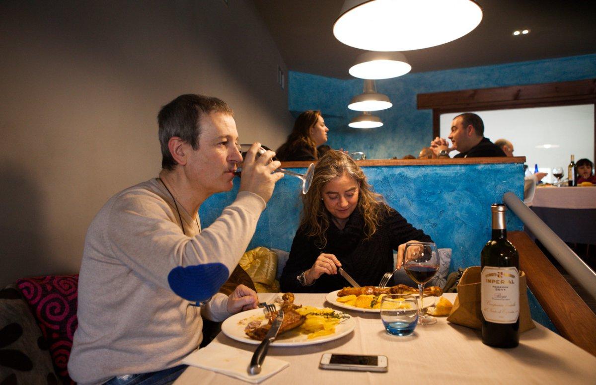 Según Pedro, la mayoría de la clientela son vecinos y turistas madrileños de fin de semana.