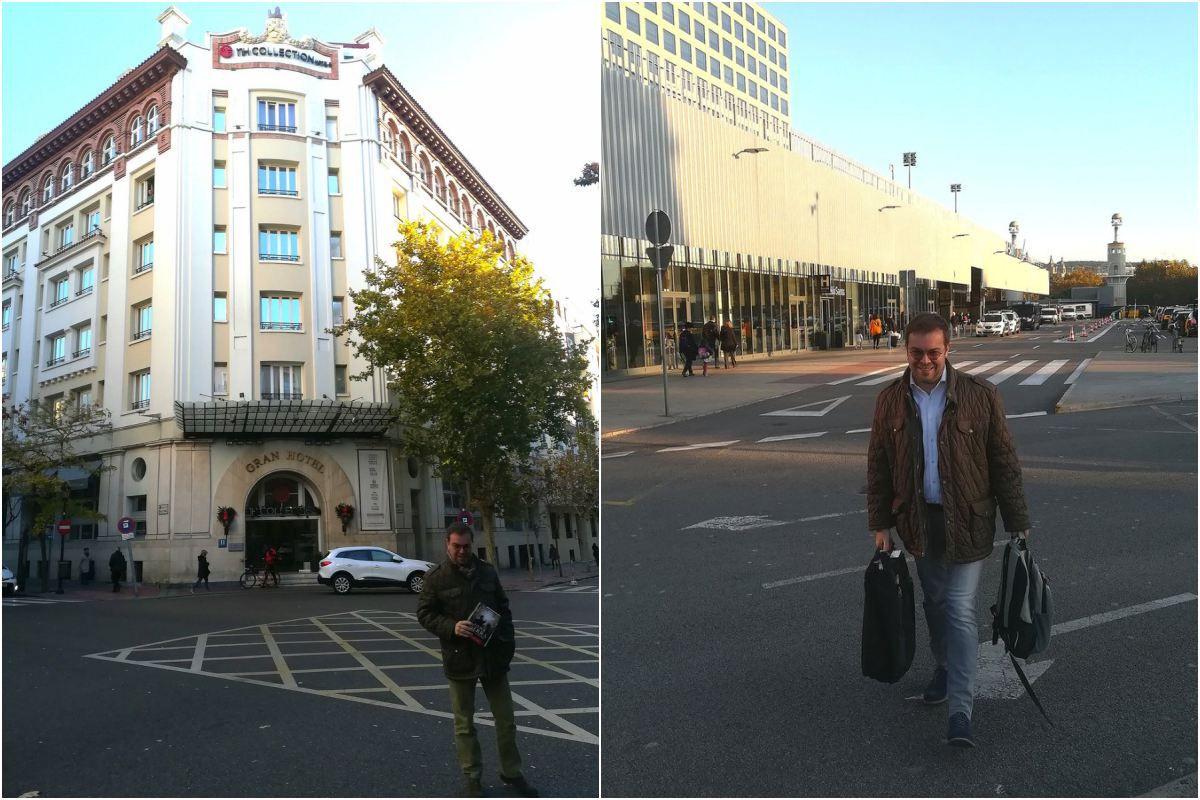 Hoteles y estaciones, la vida de la promoción. Foto: Facebook.