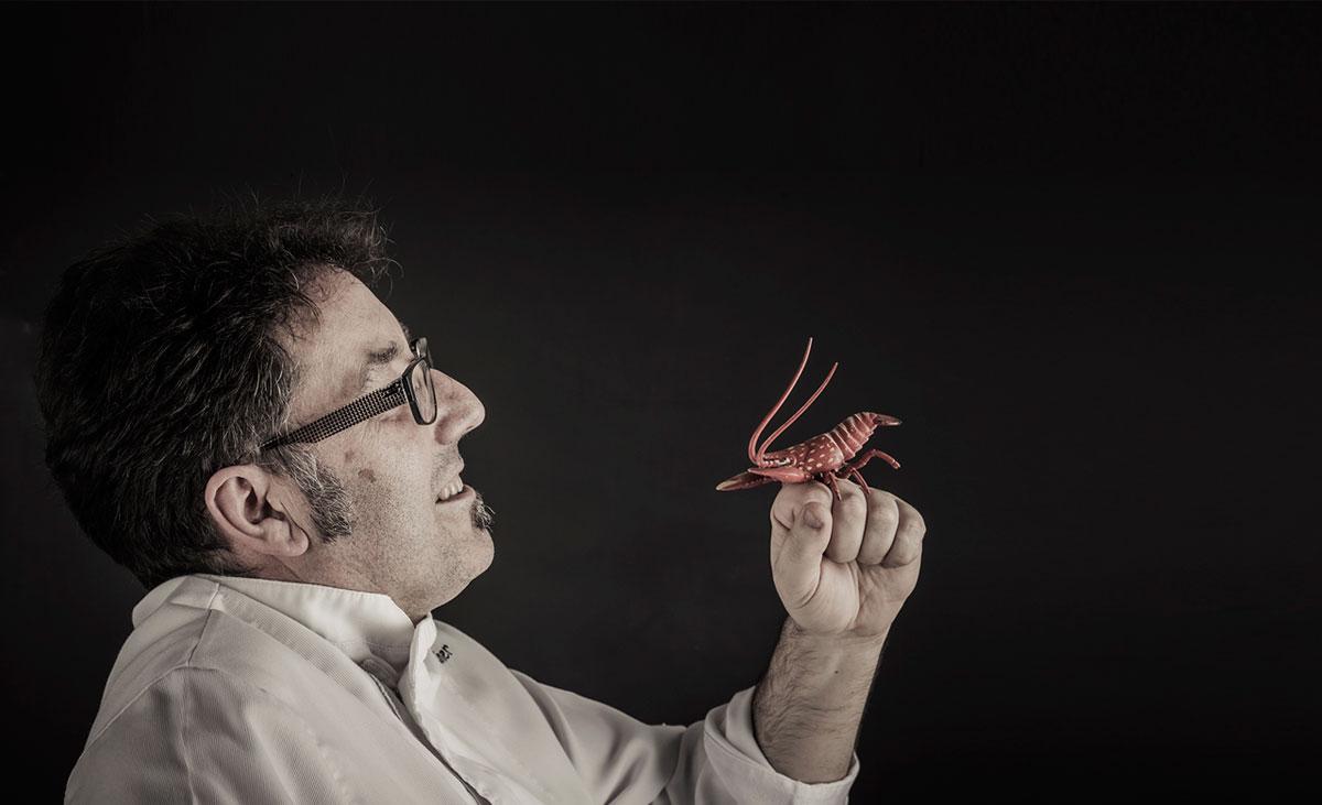 Miquel, todo un maestro ante los fogones. Foto: El Baret de Miquel.