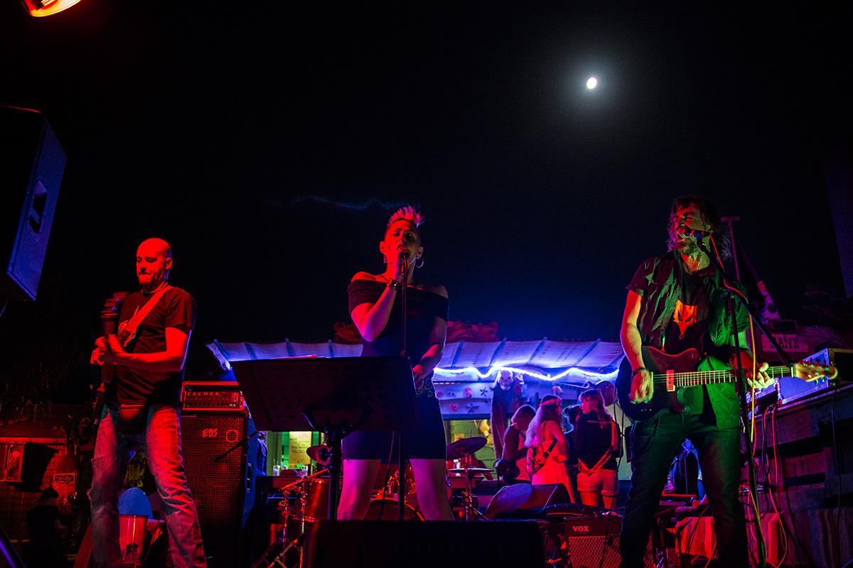 La música en directo es uno de los mayores atractivos del local.