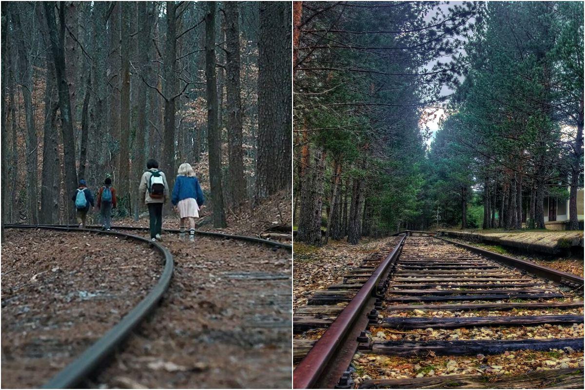 Las vías, uno de los escenarios más vistos en la serie. Fotos: D.R. Alexandro Lacadena - Todos los derechos reservados.