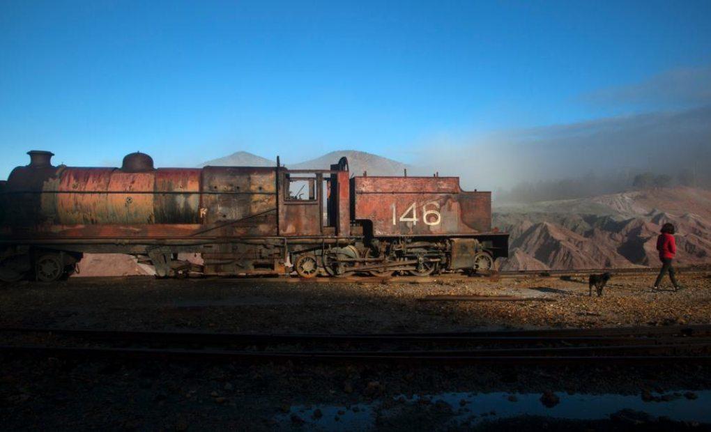 El paisaje que regalan las minas de Riotinto es realmente marciano.