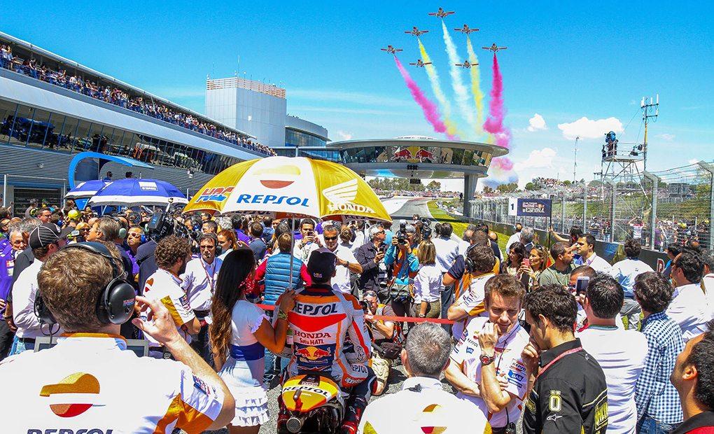 Inauguración del Gran Premio de Jerez. Foto: A. Ribero - Circuito de Jerez.