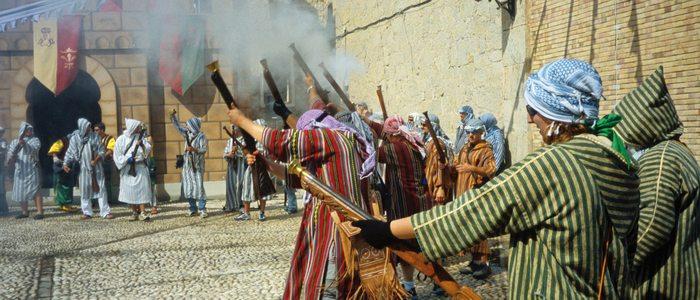 Fiesta de moros y cristianos en Altea.