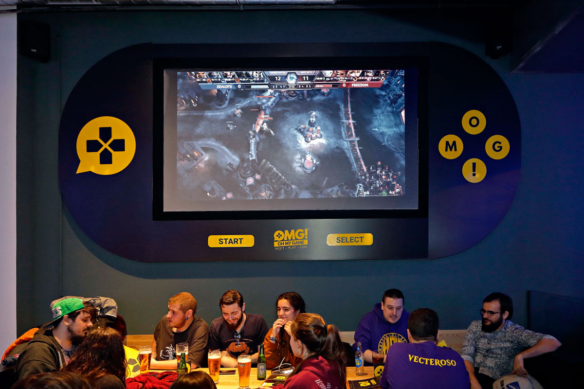 'Oh my game', eSport en Madrid.