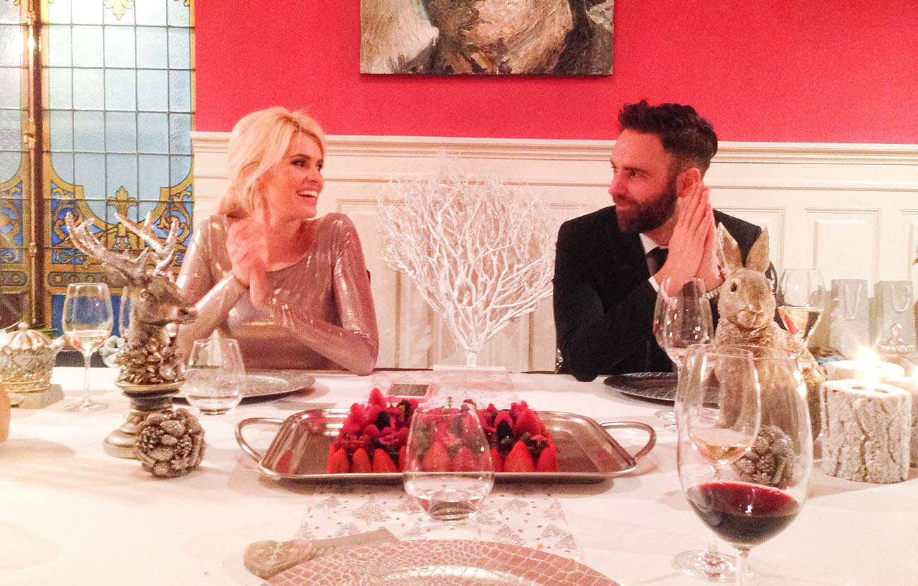 Adriana junto a su marido, Sergio Abad, en el restaurante 'Novodabo'. Foto cedida.