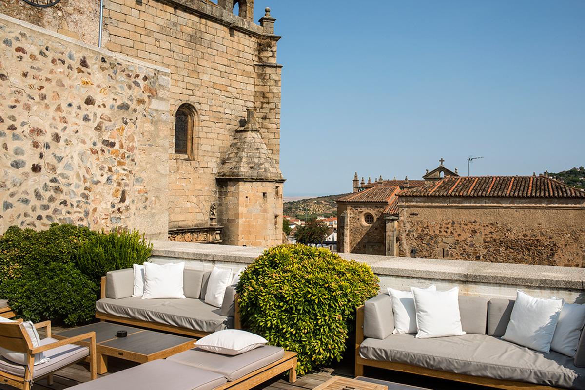 Terraza hotel Atrio