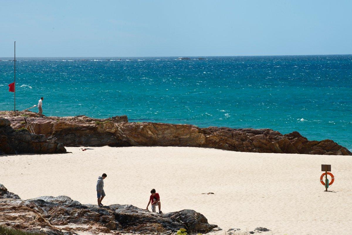 Chiringo As Furnas (Xuño): playa de Xuño