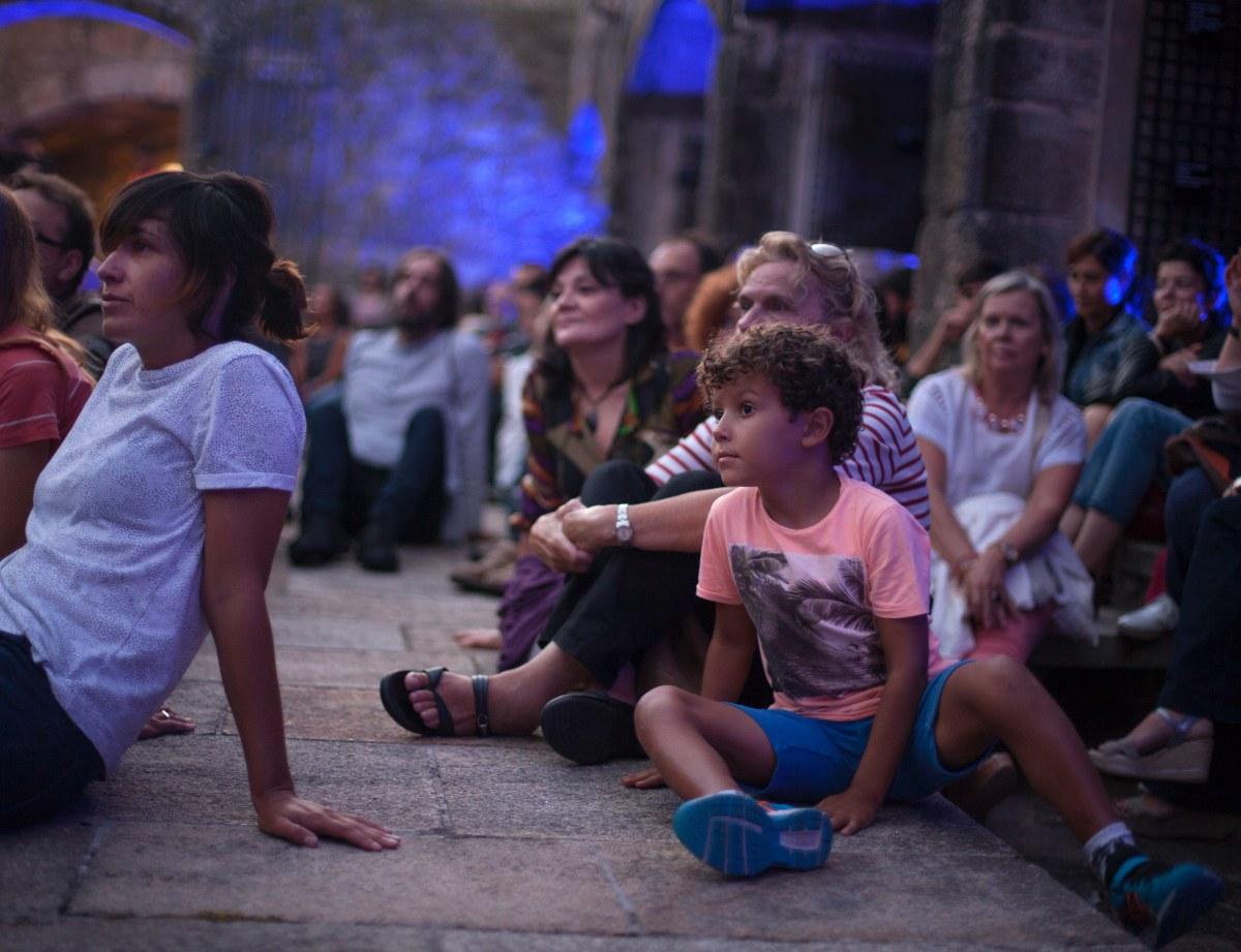 Los niños se apuntan a más de un concierto. Foto: Vanessa Rabade