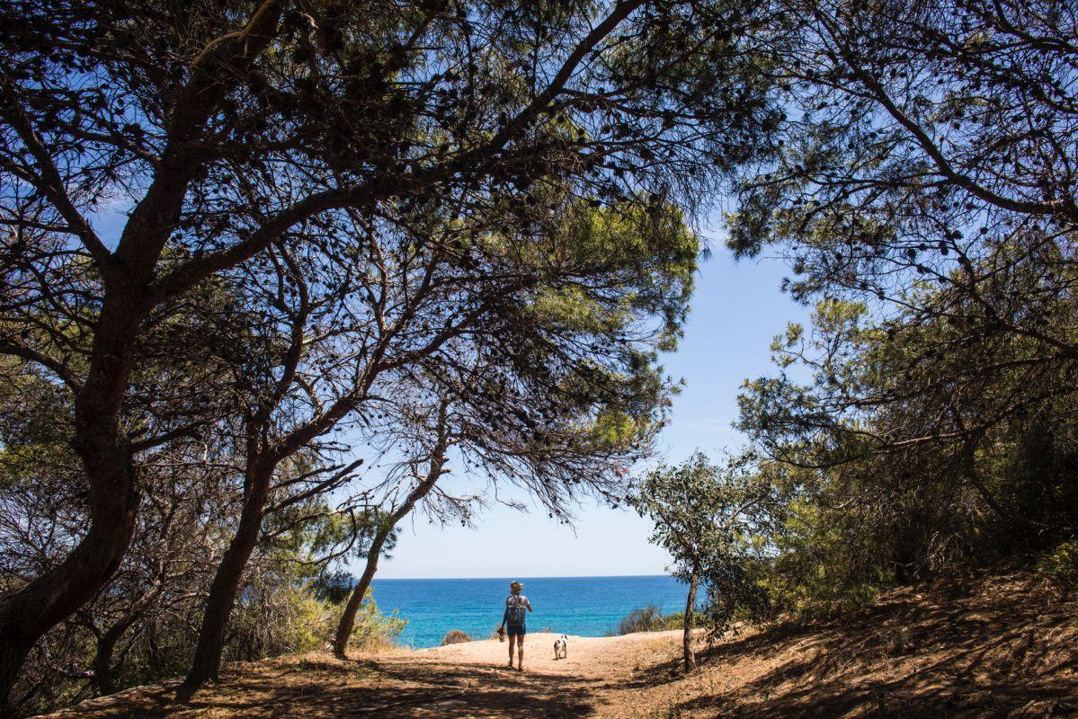 Cala del Peñón de Ifach, en Calpe, Alicante.