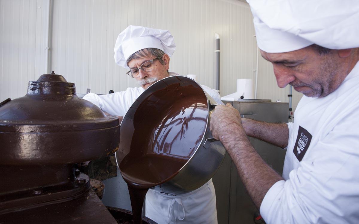La tradición de la familia por el chocolate viene de siglos atrás.