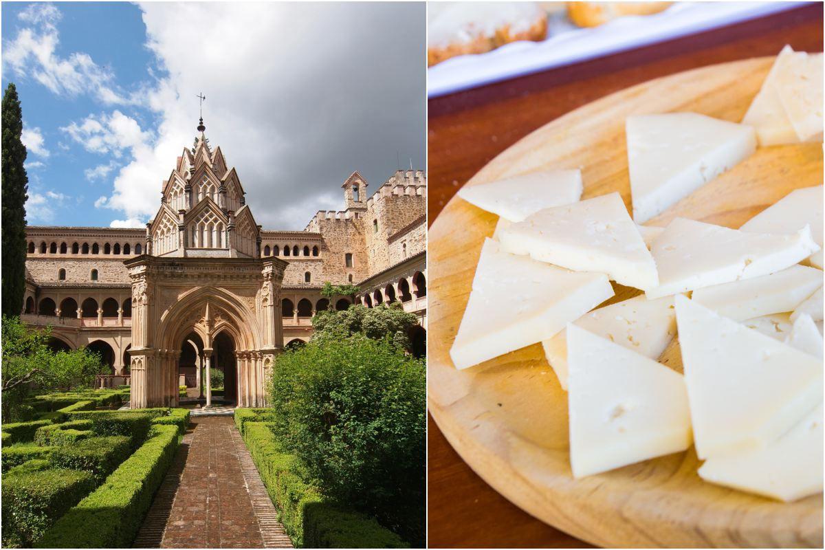 Tesoros como la catedral de Guadalupe, y delicias como el Queso Ibores... ¿Vamos? Fotos: Shutterstock.