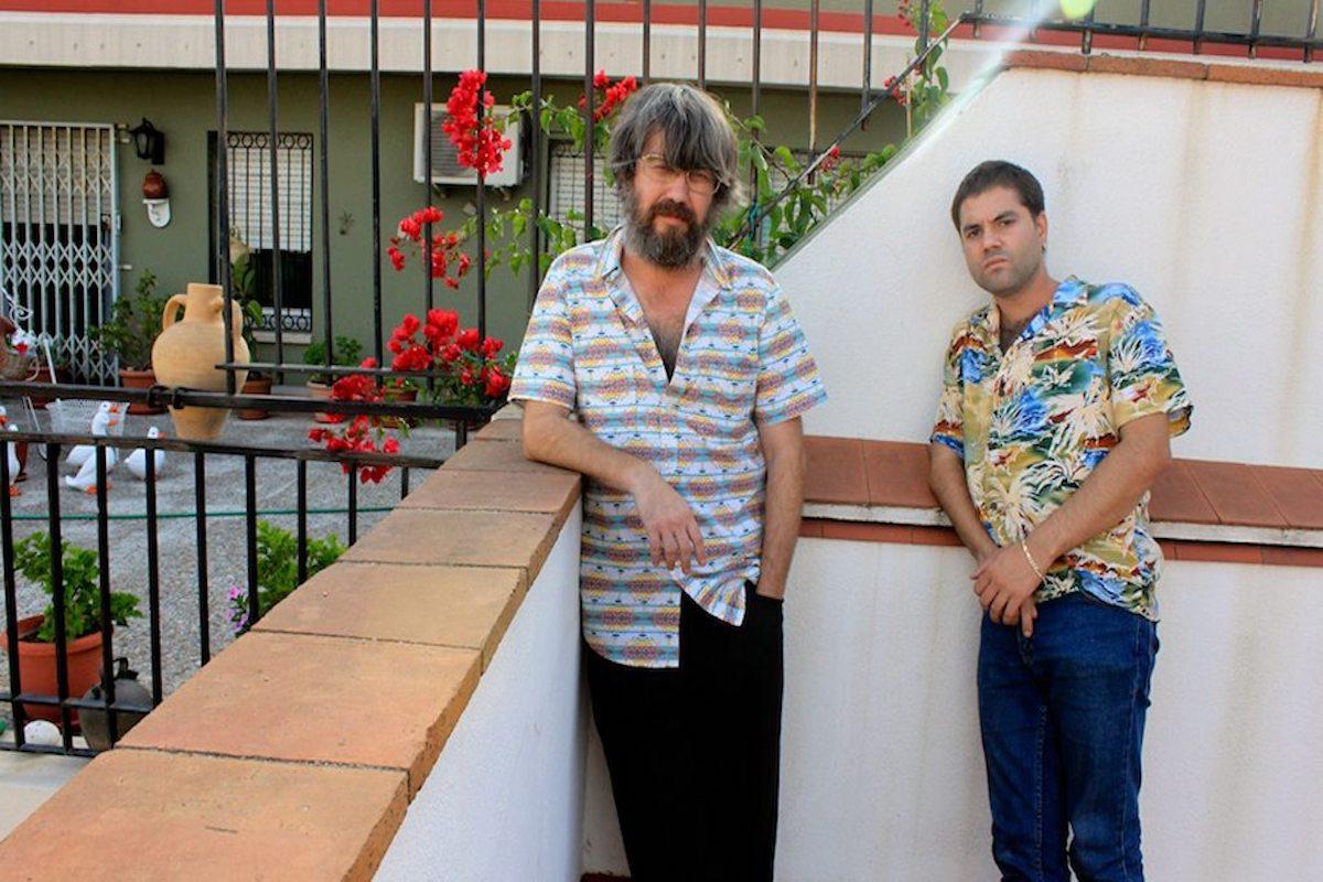Joe Crepúsculo y David Rodríguez. Foto: Irene Visa.