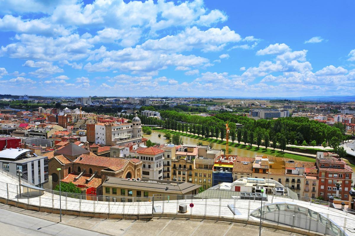 Panorámica de la ciudad de Lleida.