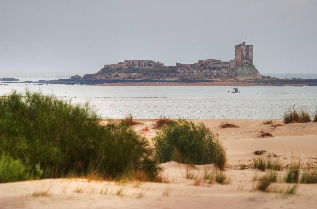 El castillo flotante de Sancti Petri. Foto: shutterstock.