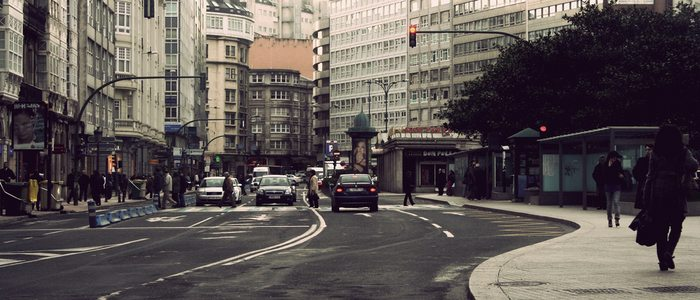 Plaza Pontevedra, A Coruña. Fotos: Santi Villamarín www.flickr.com/santinet/.