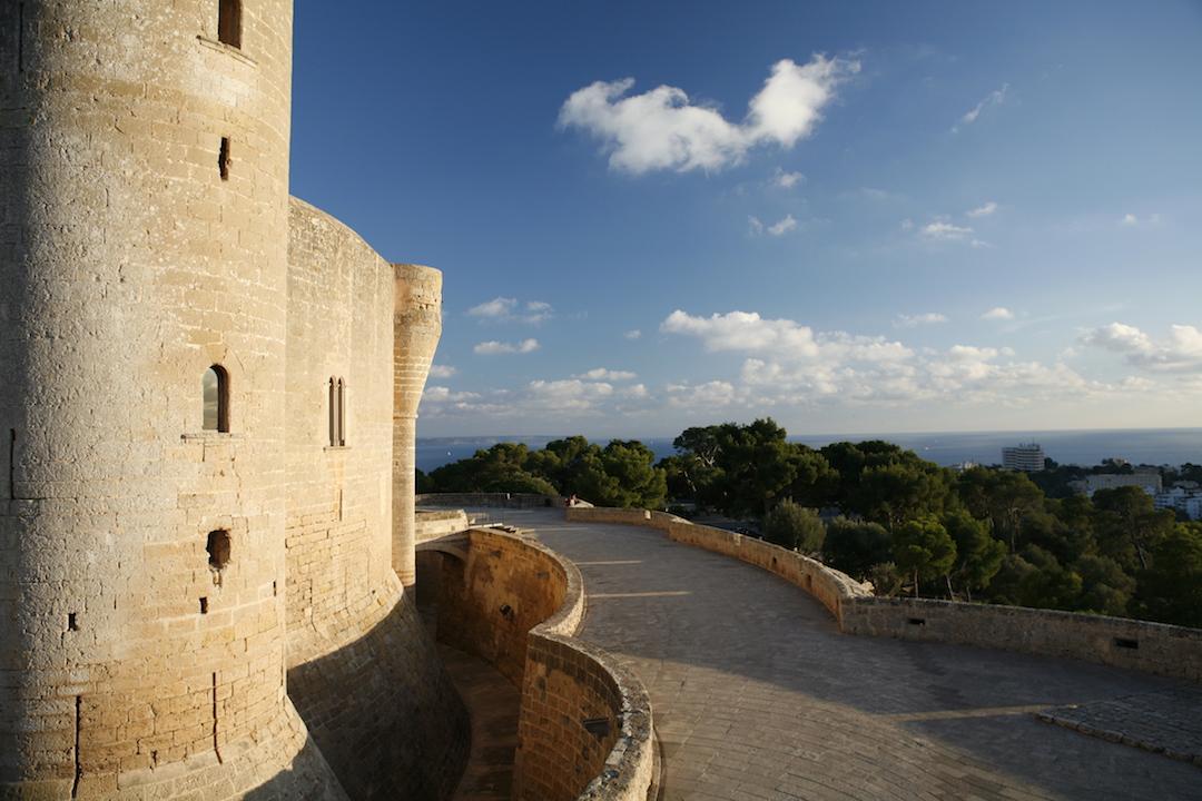 Castillo de Bellver. Foto: Oficina de Turismo de Palma de Mallorca.