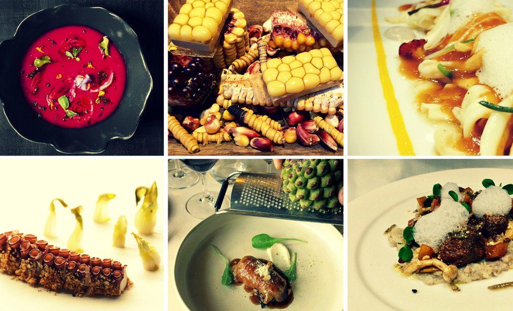 Collage de los mejores platos de 2016.