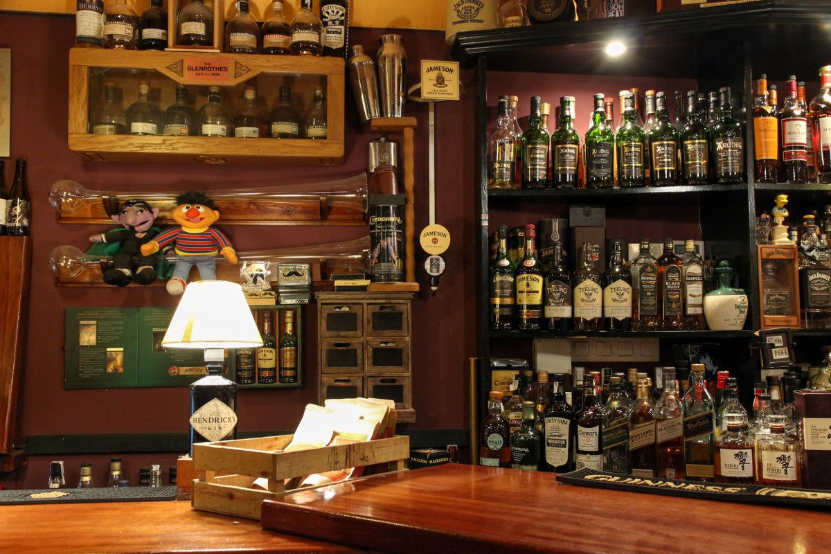 En 'Residence' hasta la lámpara tiene aroma a whisky.