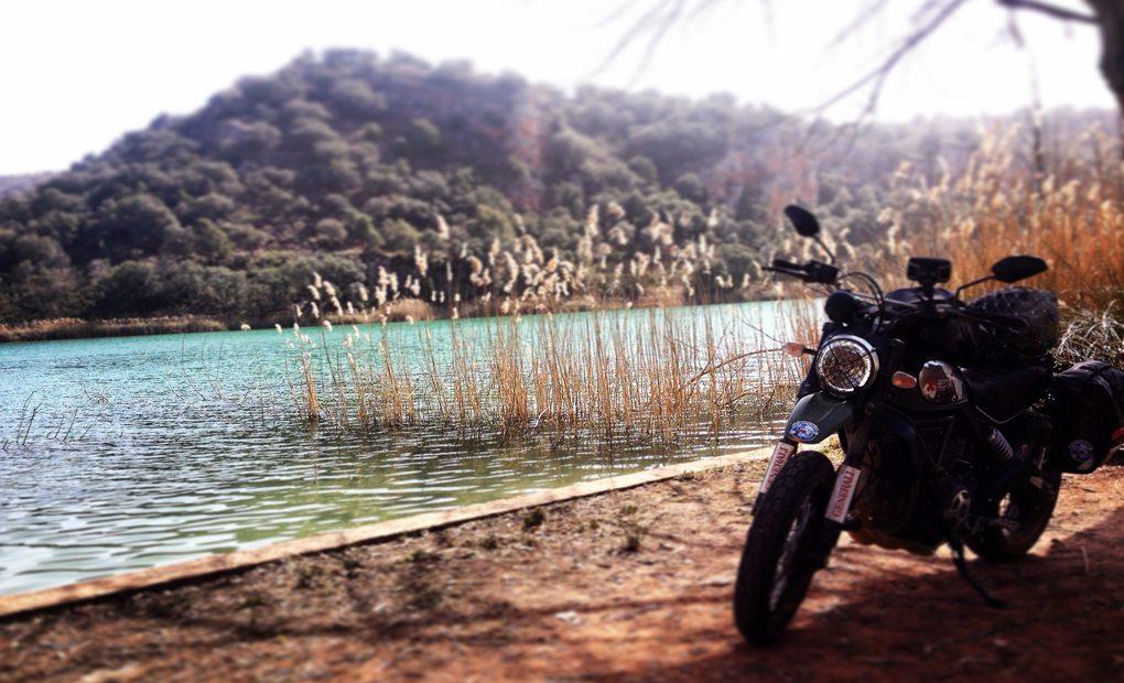 Una parada en las Lagunas de Ruidera. Foto: Alicia Sornosa